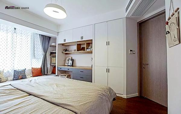 卧室面积小?千亿国际qy966这样装,堪称扩容!