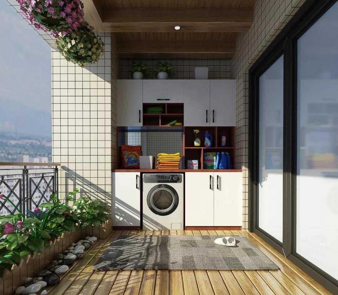 拉斐尔 | 这么实用的阳台柜能不要吗?