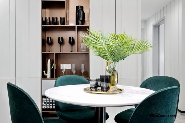 撩人轻奢风格家具的常用色彩盘点
