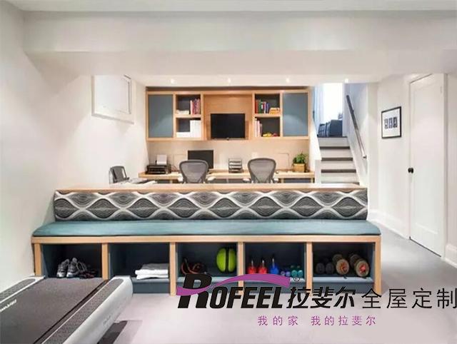 拉斐尔全屋定制 | 客厅功能丰富多彩
