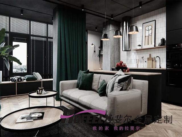 拉斐尔全屋定制   50㎡高品质单身公寓
